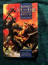 A Song Of Ice And Fire Roleplaying By Robert J. Schwalb Pocket Edition Paperback