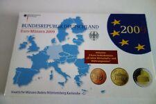 COFFRET  BE ALLEMAGNE  2009   LETTRE A  avec 2 X  2 Euro COMMEMO