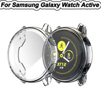 TPU Frame Cover Case Shell Full Protector For Samsung Galaxy Watch Active 40mm