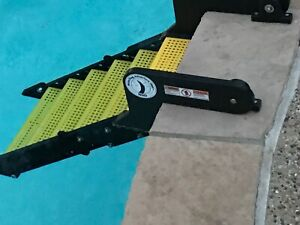 WAG Dog Boarding Steps for In-Ground Pools (vs. Ladders/Ramps/Platforms)