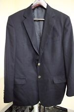 Joseph Abboud 100% Wool Navy 2 Button Lined Vented Blazer Size - 42R
