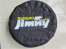 """Spare Tire Cover 14inch(23""""-27"""") For Suzuki JIMNY RHINO 4X4 Black Vinyl Hi-Q"""