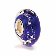 TROLLBEADS Bead in Vetro Blu Via Lattea TGLBE-20053