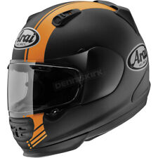 Arai Helmets Black/Orange Defiant Base Helmet - DEFIANT- XXL