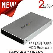 "StarTech eSATAp / eSATA or USB 3.0 External 2.5"" SATA III Hard Drive Enclosure"