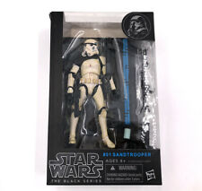 #01 Sandtrooper Limited Star Wars The Black Series Rare Gift Hasbro Edition