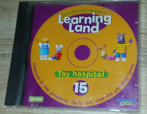 LEARNING LAND-DISCOVER & PLAY ON YOUR PC-CD-ROM 15# *TOY HOSPITAL*