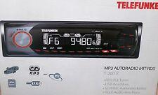 Telefunken T360X CAR AUTO RADIO PLL RDS MP3 USB SD AUX 4x 40W ID-Tag Schwarz