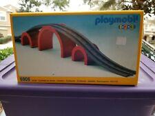 1992 Playmobil 1 2 3 #6906 Track & Bridge NISB