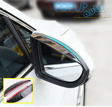 FITFOR COMPASS AUDI A6 VW POLO 6R SIDE DOOR MIRROR RAIN GUARD VISOR SHIELD COVER