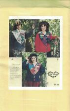 Cat Lady, Spring Garden & Holiday Angel Jacket Pattern 3 Designs 1995 Mary's New