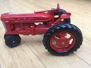 Hubley Large Farm Tractor Mint In The Box