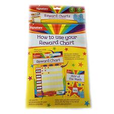 Children's Reward Charts - Pack Of 6, Plus 4 Certificates & 648 Star Stickers