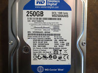 """Western Digital WD2500AAKS-00F0A0 DCM:HGRNNT2AHN 250gb 3.5"""" HDD"""
