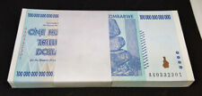 ZIMBABWE 2008 P91 100 Trillion Dollars Full Bundle 100pcs UNC 0332301~0332400