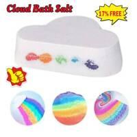 Natural Skin Care Cloud Rainbow Bath Salt Ball Essential Oil Effervescent Bubble