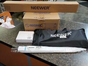 Neewer Photo Studio Strobe Flash Light and Softbox Lighting Kit with Light Stand