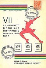 SPORT -  HOCKEY: POSTAL HISTORY - ITALY : BOLOGNA 1958