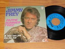 "Jimmy FREY-pappie numéro twee/philips vinyl 7"" single 1974"
