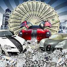Lure of money 10'x10' CP Backdrop Computer-painted Scenic Background ZJZ-063