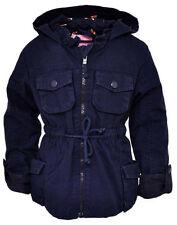 Manteaux, vestes et tenues de neige bleues avec capuche pour fille de 3 à 4 ans