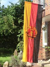 DDR-Fahne, riesig! Staatsflagge, 3,00 m x 1,20 m, NEU  ORIGINAL, Zertifikat