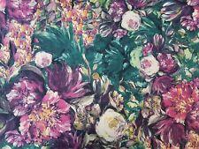 Peinture à l'huile style imprimé Floral Polyester Filé Jersey Simple en tricot