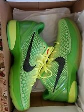 Kobe 6 Grinchs Size 11.5 Deadstock