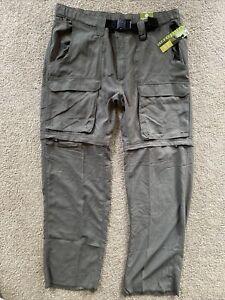 BSA Boy Scouts Nylon Convertible Uniform Switchback Pants/Shorts Women's Size XL