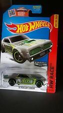 Hot Wheels '68 Mercury Cougar Zamac Diecast 1:64 HW Race Series Best For Track