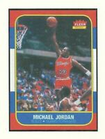 STICKER of 1986-87 Fleer Michael Jordan Rookie Card  Chicago Bulls