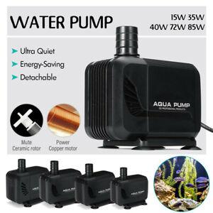 Submersible Water Pump Fish Tank Pond Aquarium Waterfall Fountain Sump Feature