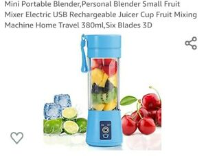 Mini Portable Blender,Personal Blender Small Fruit Mixer Electric USB...
