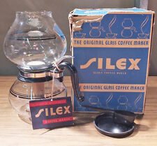 Silex Vacuum Coffee Maker - UWA-8, LWA-8 - Original Box, Instructions, Unused?