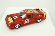 Rare cb.car cb Car Red Porsche 959 1:24 Made Italy Model Car