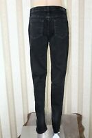 LEE Platinum Label Women's Size 6 Long Black Relaxed Straight Leg Stretch Jeans