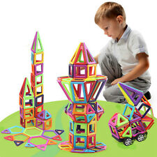 145 Piece Magnetic Blocks Building Toys For Boys Girls Magnet Tiles Kits For Kid