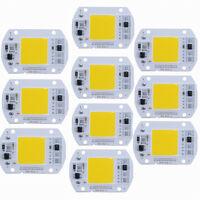 10X 50W LED CHIP MIT TREIBER 220V INTEGRIERTE ERSATZ-LED-LEUCHTEN Kühles Weiß