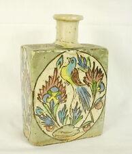 Flacon ou bouteille Iznik ancienne 16 cm 546 g  Old vial or bottle Iznik