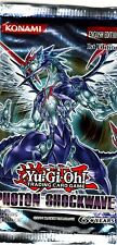 YU-GI-OH TCG Photon Shockwave PACK ENG FIRST EDITION NEW SEALED