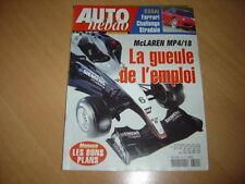 Auto hebdo N°1394 Ferrari Challenge Stradale.E55 AMG