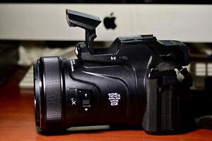 Nikon Coolpix P1000 Black Superzoom 125x Optical Raw 24-3000mm Digital Camera