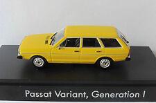 VW VOLKSWAGEN PASSAT LS VARIANT GENERATION I YELLOW 1974 MINICHAMPS 1/43 GELB