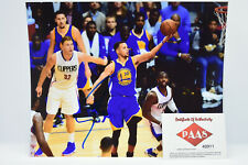 Stephen Curry Signed 8x10 Golden State Warriors W/ Authentication Certificate