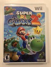 Super Mario Galaxy 2 [ Nintendo Wii ] Complete w/Case & Manual