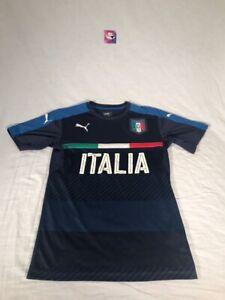 Puma italia Italy Soccer Jersey Blue Mens sz Small