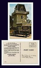 CALIFORNIA REDWOOD CITY 1922 OVERLAND AUTOMOBILE BROADVIEW CLEANERS CIRCA 1959