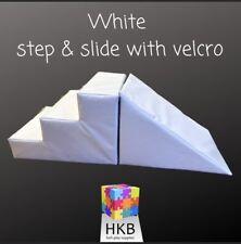 Steps And Slide - White / Grey - Kids Fun