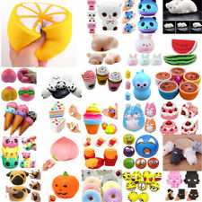Squishy Squeeze Realistic Slow Rising Charms Collection Stress Relief Fun Toy