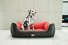 DOG LUX BED - DOUBLE EXTRA LARGE- VISCO ORTHOPEDIC FOAM - WASHABLE COVER